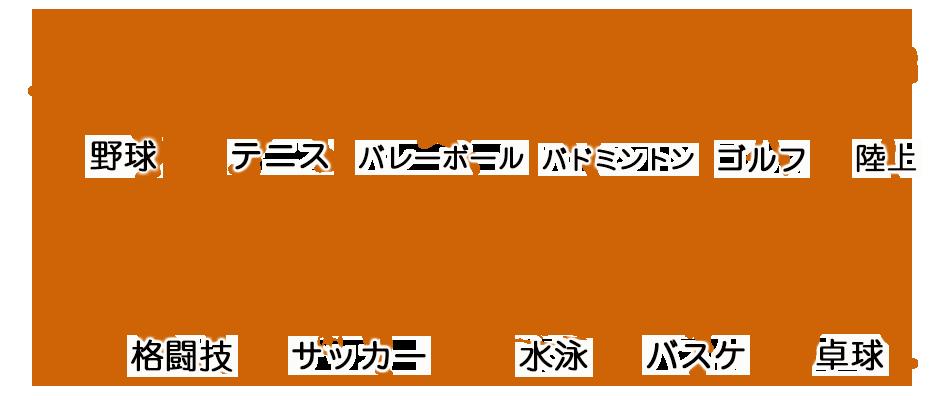 スポーツ各種