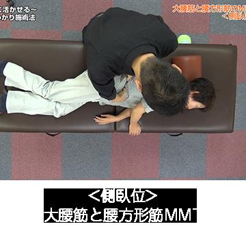 大腰筋と腰方形筋MMT